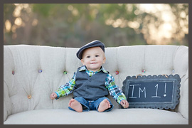 Cypress Family Photography | turning one
